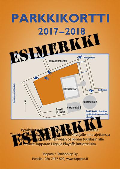 Parkkikortti 2017-18