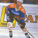 Pekka Laksola teki comebackin kirvesrintoihin kesken kauden.