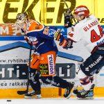Henrik Haapala karkasi IFK-puolustukselta tekemään pelin ainoan maalin.